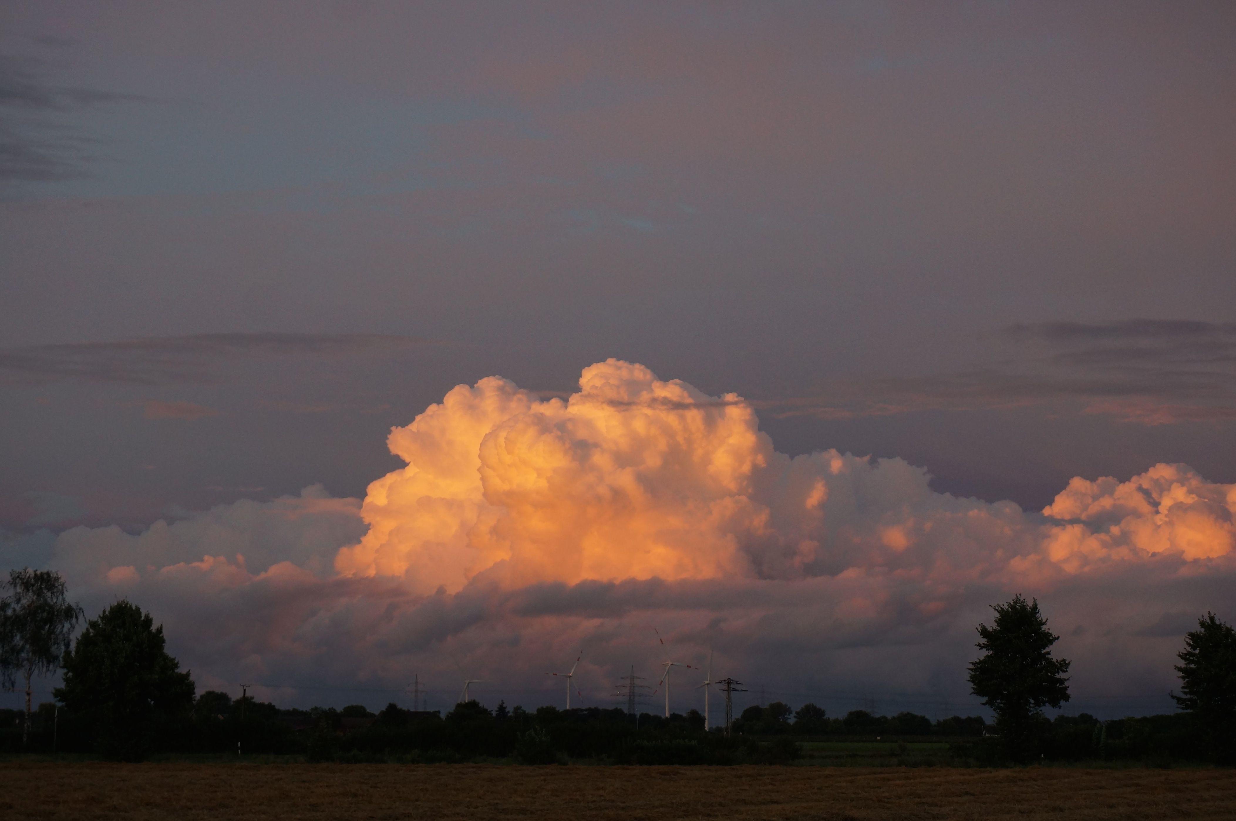 Was macht eine Wolkenfreundin am Sonntagabend ?