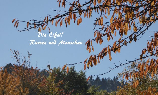 Die Eifel – der Rursee und Monschau