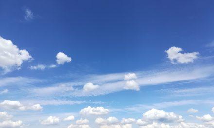 Ich schau den weissen Wolken nach….