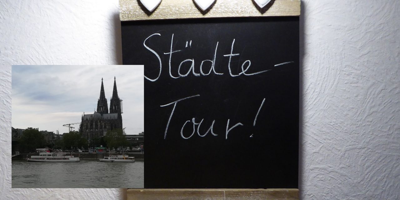 Städtetour- Am Dom zu Kölle